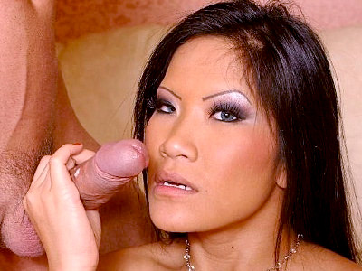 Cum Drenched Asian Blowjob 